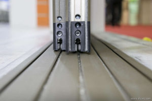 ACCELL - Double Glazed Flat Threshold Sliding System