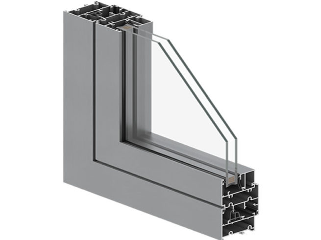 NTB15 - 58 Aluminum Window System without Thermal Insulation