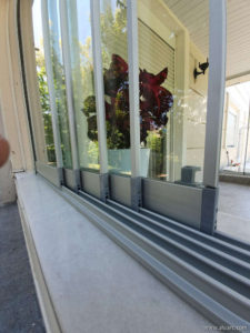 SLIDEA - Single Glazed High Threshold Sliding System