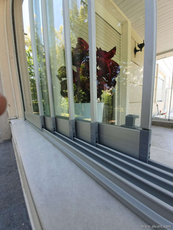 SLIDEA - Single Glazed High Threshold Sliding System
