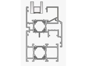 TB15 - 58 Thermal Insulated Aluminum Window System