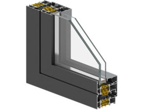 TB15 - 72 Thermal Insulated Aluminum Window System