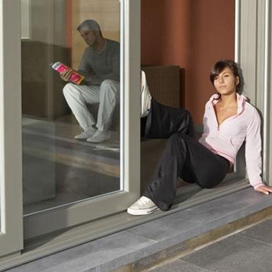 U-PVC window and door systems